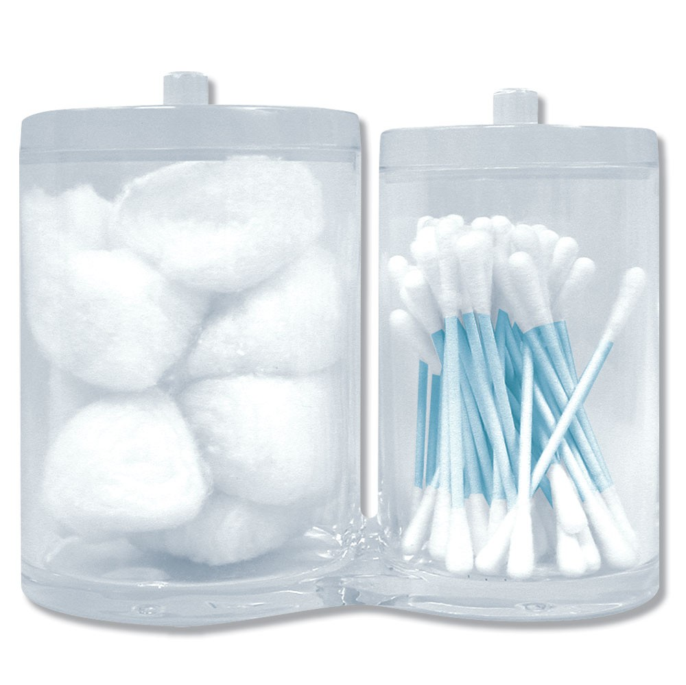 Ac207 cotton balls swabs holder