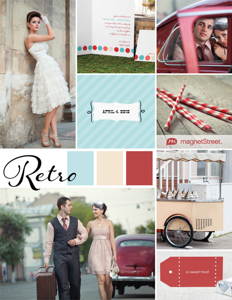 Retro wedding inspiration 26482