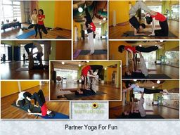 Thumb partner yoga