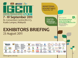 Thumb backdrop exhibitor briefing 20cm x 15cm 2011