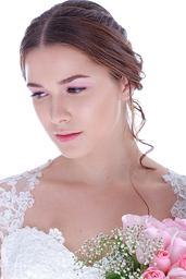 Thumb pink bridal look3