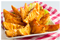 Thumb cheesy wedges