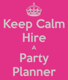 Thumb keep calm hire a party planner