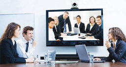 Thumb lifesize videoconferencing