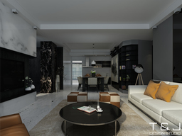 Thumb contemporary living design view 1