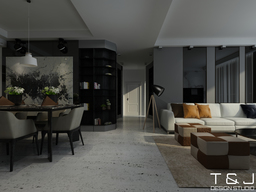 Thumb contemporary living design view 2