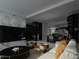 Thumb contemporary living design view 3