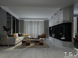 Thumb contemporary living design view 4