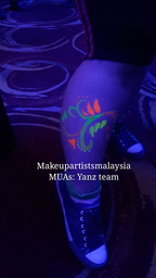 Thumb mars glow in the dark face paint  9