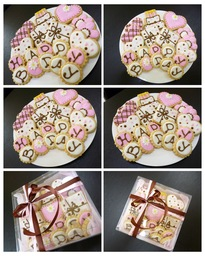 Thumb birthday cookies gift set
