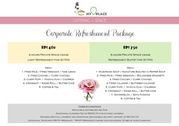 Thumb corporate refreshement package