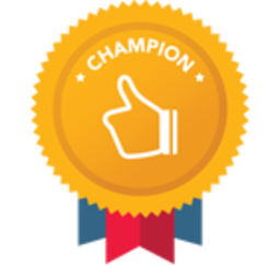 Thumb champion badge