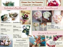 Thumb bouquet packages