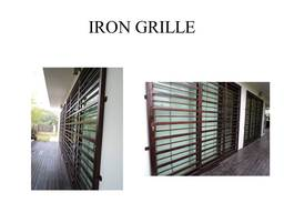 Thumb iron grille